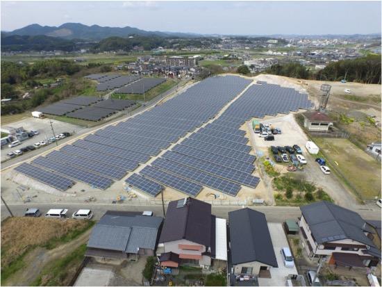 福岡県発電所 1004.64KW